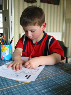 Pre-school Skills Club promotes concentration.